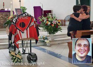 Terni - I funerali di Stefano Gambini