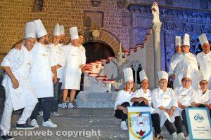 Santa Rosa - Cene in piazza - La torta e gli artigiani Cna
