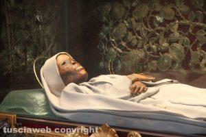Il corpo di santa Rosa