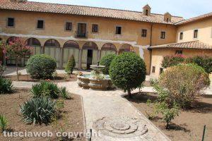 Il giardino del monastero di santa Rosa