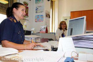Viterbo - L'ufficio passaporti della questura