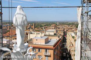 Viterbo - Macchina di santa Rosa - Gloria dall'alto