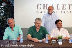 Viterbo - Il centrodestra presenta la candidatura di Paolo Equitani alle Provinciali