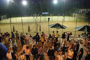 Bassano Romano - Un campo da beach volley