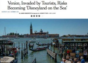 Venezia sul New York Times