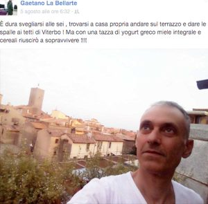 Gaetano Labellarte - E' tornato a casa dopo l'incidente del 23 maggio