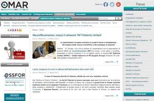 Osservatorio malattie rare - L'articolo dedicato alla vicenda di Rosanna Rocchi