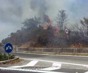 L'incendio sulla Cassia bis