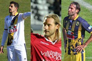 Sport - Calcio - Da sinistra: Jefferson, Razzitti e Sforzini
