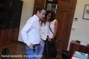 Viterbo - Pietro Nocchi ed Emanuela Benedetti