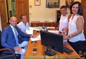 Viterbo - Elezioni provinciali - Stefano Bonori e Marco Ciorba consegnano la lista Mo.Ri.