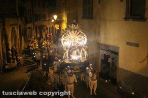 Canepina - La processione della Madonna Assunta in cielo