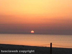 L'alba a Marina di Ginosa