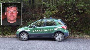 Incendio a Fiescole - L'intervento del Nipaf e nei riquadro Danilo Camilli