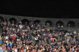 Viterbo - Il pubblico al teatro di Ferento