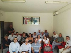 La riunione dei sindaci del Pd