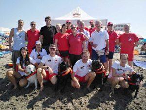 Tarquinia Lido - Gruppo protezione civile, cani soccorso, croce rossa