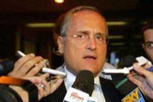 Sport - Calcio - Lazio - Il presidente Claudio Lotito