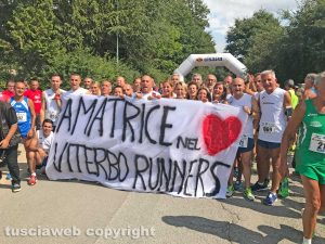 Viterbo runners ad Amatrice