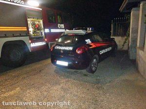 I carabinieri e i vigili del fuoco - Foto di repertorio