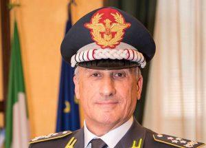 Il comandante generale della guardia di finanza Giorgio Toschi