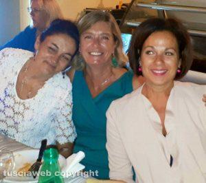 LIceo Buratti - Da sinistra, Cesarina Cruciani, Monica Paternesi e Luana Pontani