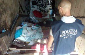 Polizia locale di Roma Capitale - L'intervento nel cantiere