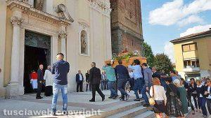 Verdello (Bergamo) - I funerali di Egidio Locatelli