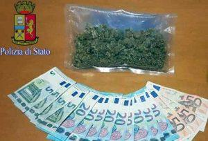 Tiburtina - Il denaro e la droga sequestrati dalla polizia