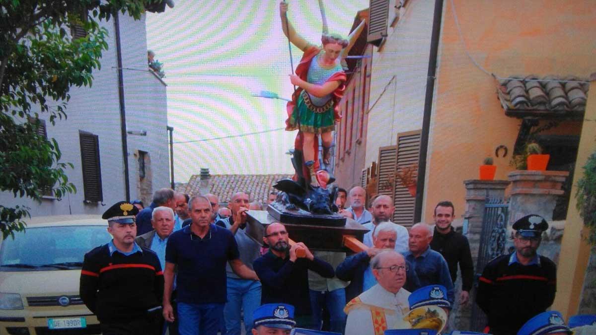 La comunità festeggia San Michele Arcangelo