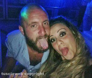 Anthony Labanca e la fidanzata Francesca Lenzo