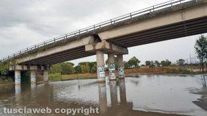 Tarquinia - Allagato il sottopassaggio del ponte della ferrovia