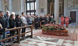 Viterbo - I funerali di Massimo Natili