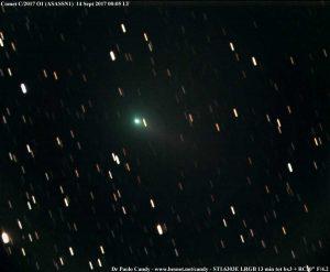 Una nuova cometa in cielo: C/2017 O1 (ASASSN1)