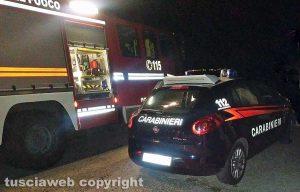 I carabinieri e i vigili del fuoco