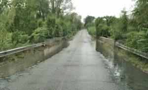 Maltempo - Allagata la Cassia al km 46 - Zona Le Rughe