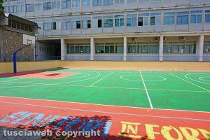Il campo da basket dell'Egidi