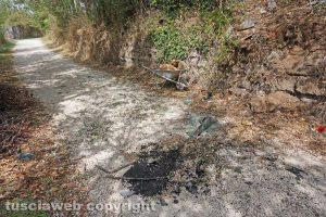 Viterbo - Incidente in strada Riello