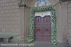 Madonna della Quercia - Apertura della Porta Santa
