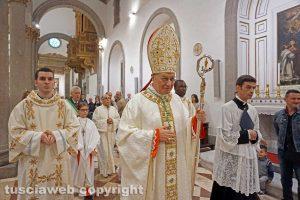 Apertura della Porta Santa - Il vescovo Lino Fumagalli