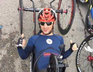 Giro d'Italia di handbike - Fatmir Kruezi