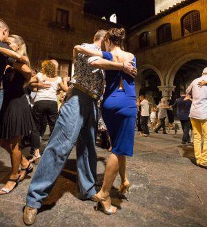 Golden Tango - Flash mob nel centro storico