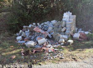 Gradoli - La chiesetta distrutta