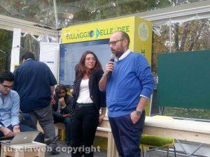 Milano Paolo Bianchini con Maria Letizia Gardoni