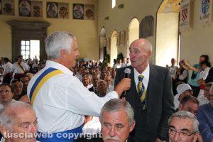 Viterbo - Santa Rosa - Trasporto 2017 - Il raduno dei facchini a palazzo dei Papi