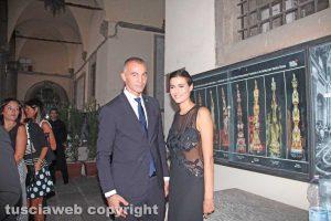 Raffele Ascenzi e Alice Sabatini