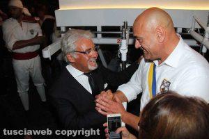 Il prefetto Nicolò D'Angelo con Sandro Rossi