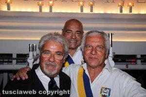 Il prefetto Nicolò D'Angelo con Sandro Rossi e Massimo Mecarini