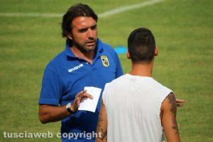 Sport - Calcio - Viterbese -Bertotto a colloquio con Di Paolantonio