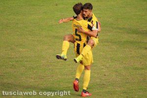 Sport - Calcio – Viterbese - Cenciarelli dopo l'1-0